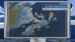 CTV Atlantic meteorologist Cindy Day has updated snow totals from Thursday's nor'easter, as well as updated totals from a wild week of winter.