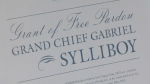 Gabriel Sylliboy received only the second posthumous pardon in Nova Scotia history.