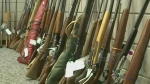 More than 150 guns surrendered during amnesty