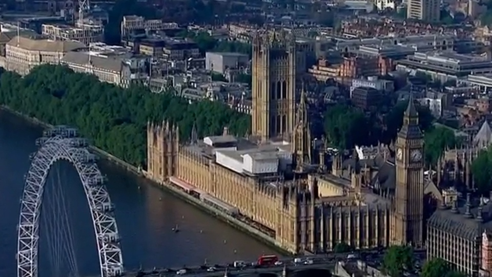 The Palace of Westminster, which houses Parliament in the U.K.,  is seen in London in this undated image.