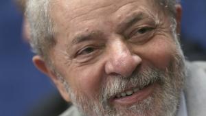 Brazil's former President Luiz Inacio Lula da Silva attends the impeachment trial of suspended President Dilma Rousseff, in Brasilia, Brazil on Aug. 29, 2016. (AP / Eraldo Peres)