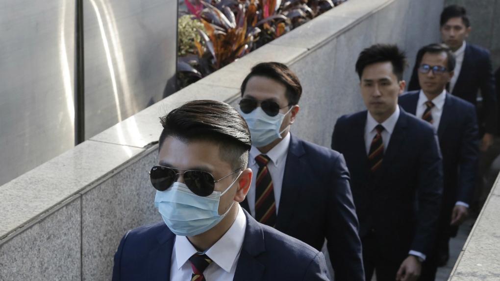 Seven Hong Kong policemen jailed for assault on democracy
