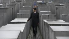 Trudeau at German Holocaust Memorial