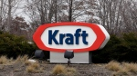 This Wednesday, March 25, 2015, file photo shows the Kraft logo outside of the company's headquarters in Northfield, Ill. (AP Photo/Nam Y. Huh, File)
