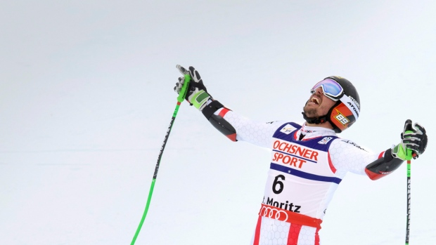Marcel Hirscher in St. Moritz