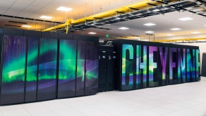 Supercomputer named Cheyenne at the National Center for Atmospheric Research. (Carlye Calvin / University Corporation for Atmospheric Research via AP)