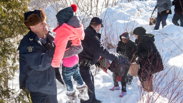 Canadian man arrested by US in alleged human smuggling; wife also charged