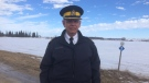 Commanding Officer Scott Kolody said people are crossing using rail lines, through bushes and open fields. (Photo: Beth Macdonell/CTV Winnipeg)