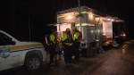 As of 9 p.m. crews were still on scene, but had yet to find anyone in distress. Feb. 17, 2017 (CTV Vancouver Island)