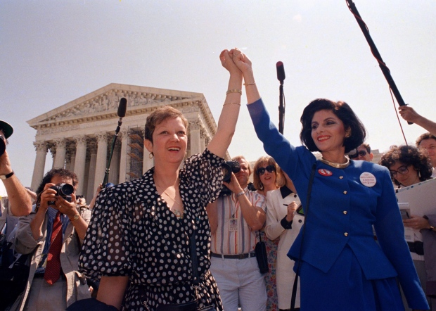 Woman in 'Roe V Wade' landmark abortion case dies aged 69