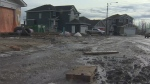 Residents in the Starling neighbourhood are concerned with a messy construction project.