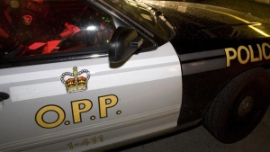 OPP shut down the eastbound 401 early Sunday, Feb. 19, 2017 in parts of Elgin and Chatham-Kent Counties following a fiery crash between two transport trucks.