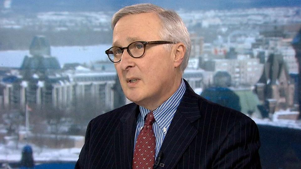 Former CSIS director Richard Fadden on CTV's Question Period.