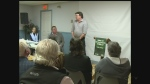 A public meeting on Saturday, Feb. 18, 2017 drew a large crowd concerned about the closure of the Service Ontario office in Belle River.