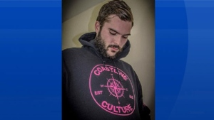 Antigonish RCMP are looking for 23-year-old Craig Joseph Perry after his vehicle was found abandoned Saturday morning in Monastery, N.S.