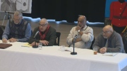 A panel of former RCMP and Halifax Police officers had a panel discussion today as part of African Heritage Month.