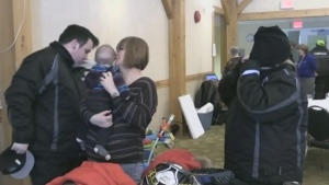 CTV Northern Ontario:  Sledding for Easter Seals