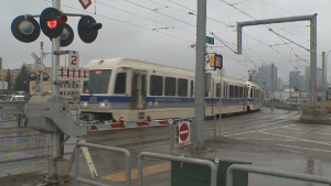The Metro Line LRT is now running at full speed through intersections.