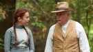 "Actors Ella Ballentine, left, and Martin Sheen are shown in a scene from YTV's ""L.M. Montgomery' Anne of Green Gables: The Good Stars"" in this undated handout photo. (THE CANADIAN PRESS/HO, Corus Entertainment)"
