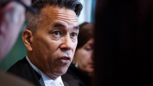 Defence lawyer Balfour Der says people shouldn't be happy that a convicted murderer in a high-profile case was beaten. (Jeff McIntosh/The Canadian Press)
