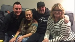 Cancer patient meets Garth Brooks