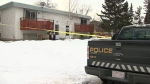 Police are continuing to investigate an undetermined death in northwest Calgary after a body was found on Sunday afternoon.
