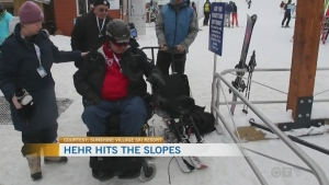 Calgary MP takes to the slopes