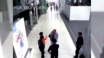 Footage from Kuala Lumpur airport security cameras obtained by Fuji TV showing a man believed to be Kim Jong Nam.