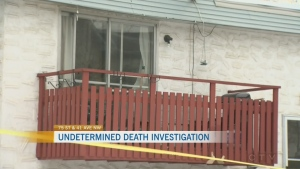 Police investigating undetermined death