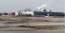 The Navistar plant in Chatham-Kent