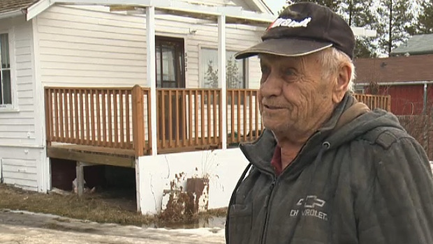 Yarmovich, 86, said he tried to paint his home himself, but it rained, and he broke some ribs after he fell off a ladder.