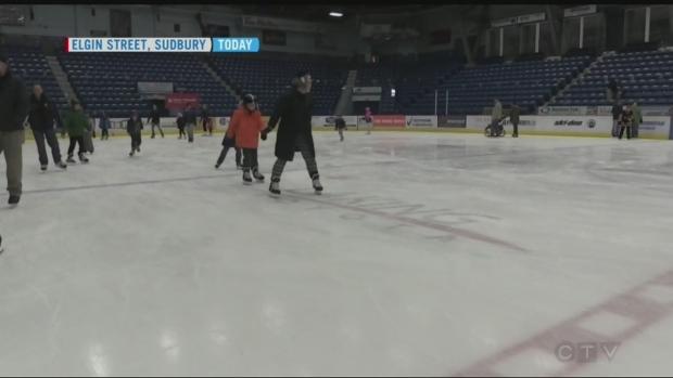 CTV Northern Ontario: Family day skate