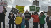 Nova Scotia Teachers Rally