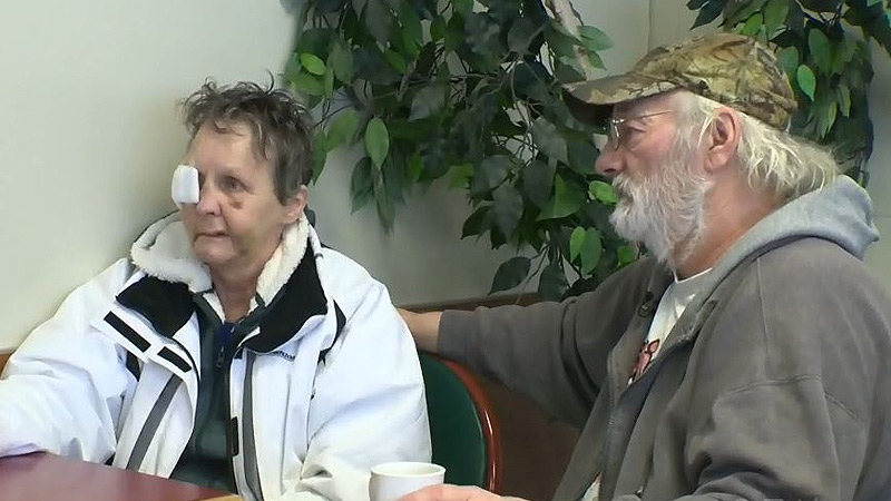 Heather Vanderzee and her partner Larry spoke to CTV News about two weeks after Vanderzee was injured in an attack at the Elk Island Child and Youth Ranch on February 4, 2017.