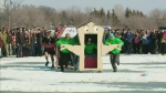 Warm weather welcomes back Waskimo winter fest