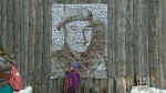 Tommy Prince mosaic portrait unveiled at Festival