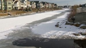 A little boy drowns in a canal in Airdrie