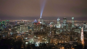 "The downtown skyline is seen Wednesday, February 18, 2015 in Montreal. Montreal city council passed a motion on Monday making it the latest Canadian jurisdiction to declare itself a ""sanctuary city."" THE CANADIAN PRESS/Ryan Remiorz"
