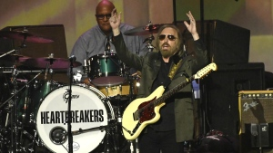 Honoree Tom Petty performs at the MusiCares Person of the Year tribute at the Los Angeles Convention Center on Friday, Feb. 10, 2017. (Photo by Chris Pizzello/Invision/AP)