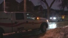 Fire crews were called to 524 Victor St. between Sargent and Ellice Avenue at 2:48 a.m. (Source: Stephanie Tsicos/CTV News)