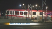 Man hit and killed by CTrain