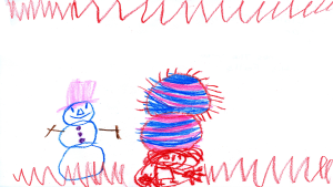 Claire Thomson, 5 years old, Senior Kindergarten, St. James the Greater