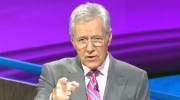 Alex Trebek raps on 'Jeopardy!'