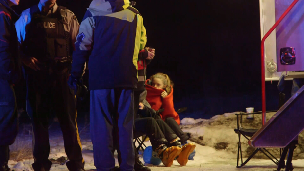 Cassidy Simpson of Kamloops Search and Rescue said there was concern because the missing skiers had ventured into a hazardous gully. (CTV)