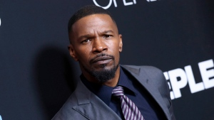 "Jamie Foxx at the premiere of ""Sleepless,"" in Los Angeles on Jan. 5, 2017. (John Salangsang/Invision/AP)"