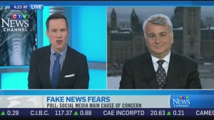 CTV News Channel: Concerns over 'fake news'