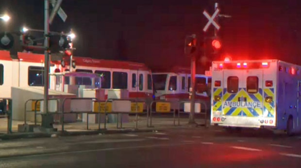 Calgary police continue to investigate a fatal pedestrian colliision near the Whitehorn LRT station