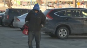 Alex Simpson says he was given a $180 ticket while panhandling in Dartmouth.