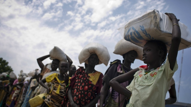 Aid promised in famine-hit Sudan