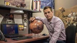 Scott VanBommel, born in Kitchener, is now a PHD candidate in physics. (Source: Canadian Space Agency)